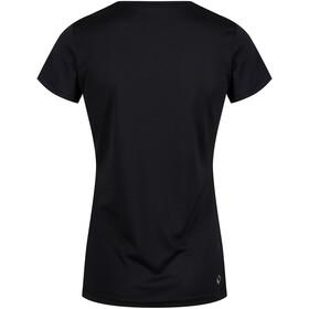 Regatta Fingal IV T-shirt Dames, black